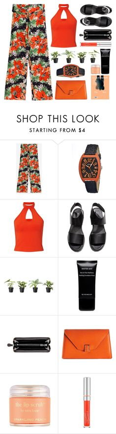 """True to Myself"" by stavrolga ❤ liked on Polyvore featuring Crayo, Miss Selfridge, H&M, Givenchy, Bottega Veneta, Valextra, Sara Happ, floralprint, croppedTop and polyvoreeditorial"