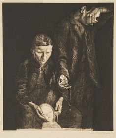Käthe Kollwitz, The Downtrodden, 1900, National Museum of Women in the Arts