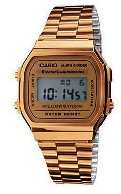 a6f6d8f6e8b Casio Relógio Collection A168WG-9EF (Dourado) 56