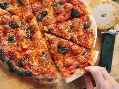 Meatballs + Pizza = Magic