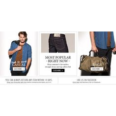 Menswear clothes and designer brands online - Nelly.com ❤ liked on Polyvore
