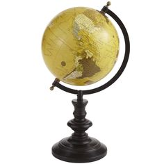 Pier 1 Classic Brown Globe for the traveling type or a ethnic/global room design.