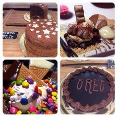 Torta Oreo e torta Pan di stelle❤️ Coppa gelato con smarties e wafer con gusto kinder paradiso e kinder bueno