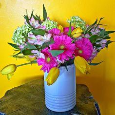 Flower Power Condo Living, Flower Power, Flower Arrangements, Planter Pots, Flowers, Inspiration, Biblical Inspiration, Floral Arrangements, Condominium