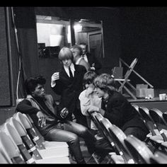 James Brown and The Rolling Stones