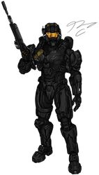 Commissioned by MrSkits wanted a finished piece of his Halo 5 Spartan Commission - Spartan MrSkits 4 Halo Spartan Armor, Halo Armor, Halo Game, Halo 5, Halo Reach, Armor Concept, Concept Art, Spartan Logo, Character Art