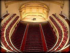Carnegie Hall, NY. not only been there but also played on that stage :)