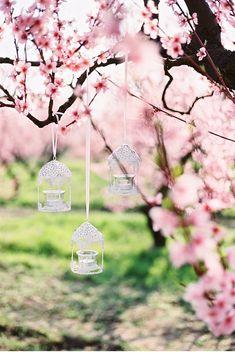 Peach Blossom Styled Shoot von Esther and Gabe - Hochzeitsguide