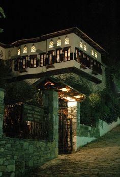 Πήλιο traditional house of Pilio, Greece Greek House, Greece Travel, Traditional House, Homeland, Countries, Beautiful Places, Landscape, Architecture, House Styles