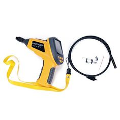 "Weanas® 3.5"" LCD Wall Drain Pipeline Plumbing Sewer Inspection Endoscope Borescope Video Camera Snake Waterproof with Monitor 4 LED 3.3 feet Flexible Tube Weanas http://www.amazon.com/dp/B00DXZ4618/ref=cm_sw_r_pi_dp_1lbpwb18SPPXM"