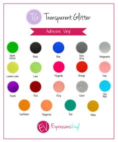 Luster Adhesive Vinyl Color Chart | Vinyl | Pinterest | Adhesive ...