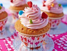 Cupcakes à la rose