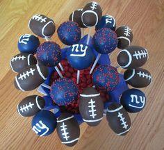 Giants Cake Pops