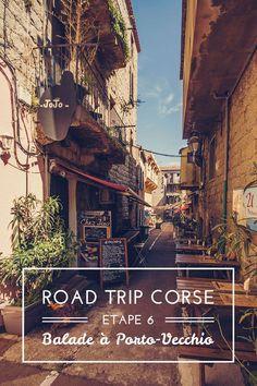 Voyage to Porto-Vecchio and to Santa Giulia, Corse.
