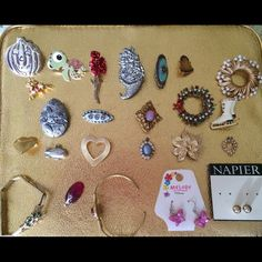Broaches .... Ask about what u like :) make offer Jewelry Brooches