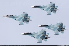 "Russian Air Force Sukhoi Su-30SM ""Flanker-Cs"""