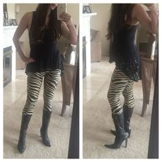 ADDITIONAL PHOTOS- Gianmarco Lorenzi Lace Up Boots See original listing. Modeling to give you an idea of height and how it fits around ankles and calves. It's pretty fitted throughout on me. I'm 5'7 about 145 pounds. Gianmarco Lorenzi Shoes