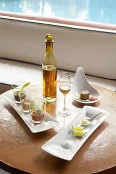 Perfecto pairing: #Tequila  #Ceviche tasting at Viceroy Zihuatanejo