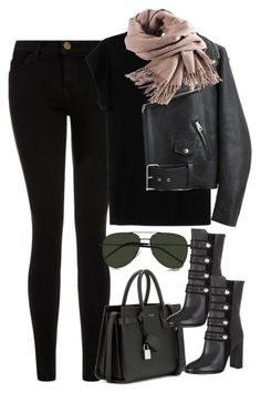 """""""Sem título #1226"""" by oh-its-anna ❤ liked on Polyvore featuring Current/Elliott, Isabel Marant, Acne Studios, Yves Saint Laurent and Filippa K"""