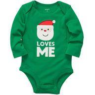 """Santa loves me."" #cartersholiday @Carter's Babies and Kids"
