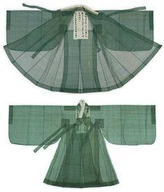 영조대왕의 도포(King Yungjo's Outer Coat), (1740年 9月)