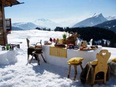 #breakfast #weekend #snow #winter