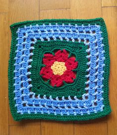 """Ravelry: Project Gallery for Wish Upon a Star - 12"""" square pattern by Melinda Miller"""