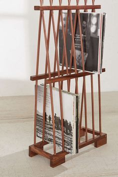 Alexander Vinyl Storage Rack                                                                                                                                                                                 More