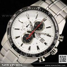 Casio Edifice Chronograph Tachymeter 100M Watch EF-547D-7A1V 5a6ae6d074