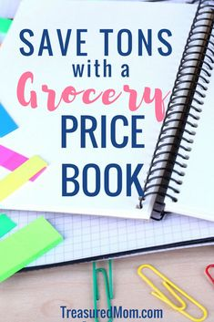 How to Make a Grocery Price Book is just what you need to fix your grocery budget. It's a great template to save money on groceries. Get the Free Printable Price Book Packet, too. via @treasuredmom