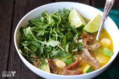 Carnitas Caldo (Carnitas Soup)   Gimme Some Oven