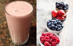 Mixed Berry Maca Protein Shake