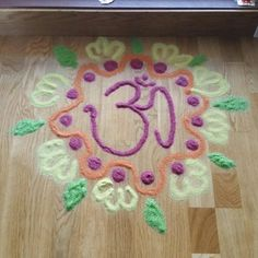 Diwali's rangoli of festival Diwali Rangoli, Diwali Decorations, Rugs, Home Decor, Decoration Home, Carpets, Interior Design, Rug, Home Interior Design