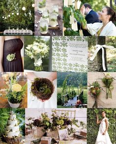 moss green and neutral color board - Google Search