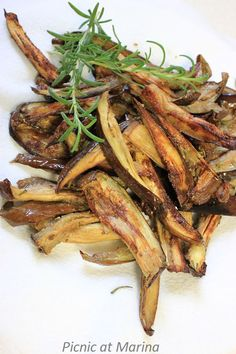 Spicy Aubergine (Eggplant) Fries
