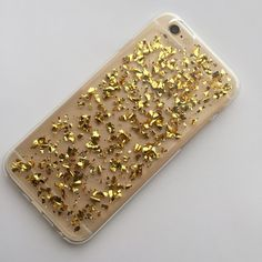 Gold Bling iPhone 6 case condition: new with tags retail retail: $25 plus tax - silicone case for iPhone 6/6s - silver specks   price firm unless bundled!  bundle to save the most.  no trades. ask ?s. happy poshing! pamcakesyumyum Accessories Phone Cases
