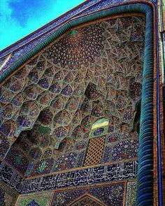 Mezquita Sheikh-Lotfolah's en Esfahan, Irán