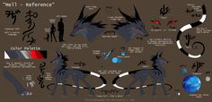 Mell - Ref. Sheet 2015 by TheShadowedGrim