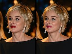 view sharon stone 26 Encouraging Sharon Stone Short Hair Styles