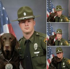 INDIANAPOLIS – What is so difficult about getting an official photo taken with a police service dog (PSD)? Nothing until the slobbery affection begins.   http://www.lawenforcementtoday.com/official-photo-leads-laughs/