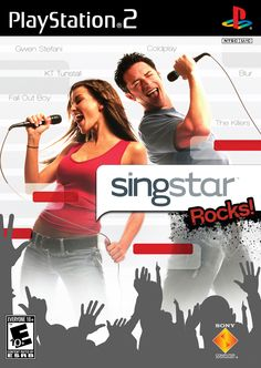 Singstar Rocks Sony Playstation 2 Game