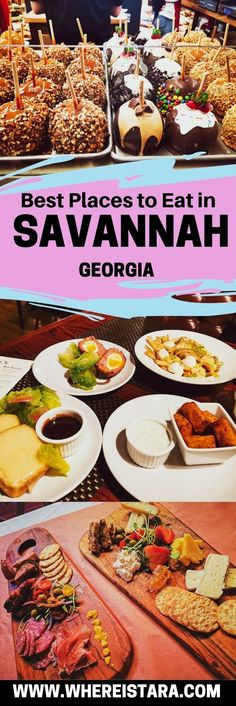 My guide to the best places to eat in Savannah, Georgia. From famous ice cream to a proper Southern dinner. There's plenty to satisfy both sweet and savoury cravings in Savannah, GA. Best Brunch Places, Dinner Places, Best Places To Eat, Famous Places, Famous Ice Cream, Savannah Restaurants, Southern Dinner, Pub Food, Down South