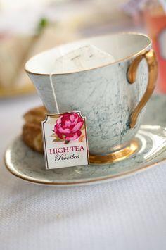 Vintage Tea Party Templates