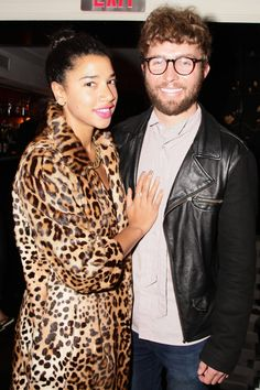 Timo Weiland & I at the #NewBazaar Relaunch Party in Dolce & Gabbana