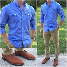 TGIF❗️🎉🎉🍺🍺 had a recent article that said every guy should have several utility shirts like this. New Mens Fashion, Fashion Wear, Fashion Outfits, Fashion Trends, Casual Dress Code For Men, Men Casual, Dress Casual, Casual Shirts, Casual Outfits