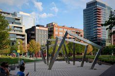 A Final Look at the Completed Peoria Green in West Loop - Chicago YIMBY West Loop Chicago, Chicago Art, Finals, Sidewalk, Green, Side Walkway, Final Exams, Walkway, Walkways