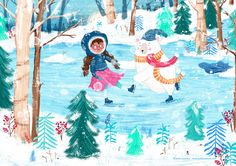 children's illustration by Sofia Cardoso #illustration #kidlitart