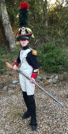 """a-french-guardsman: """" Sergeant-Major of the Fusiliers-Chasseurs of the Imperial Guard. Napoleon I's army, """" Army Uniform, Men In Uniform, Military Uniforms, American Civil War, American History, Native American, Waterloo 1815, Young Cute Boys, Seven Years' War"""