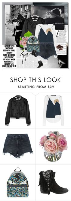 """""""Be My Edgy Valentine"""" by rainie-minnie ❤ liked on Polyvore featuring Whiteley, R13, Jacquemus, Alexander Wang, Diane James, Giuseppe Zanotti, Fendi, Qupid, Nixon and women's clothing"""
