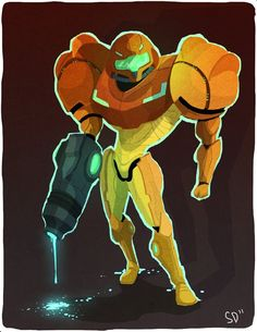 - by Spencer Duffy (More available on his site :) ) Metroid Samus, Metroid Prime, Samus Aran, Video Game Art, Video Games, The Tesseract, Zero Suit Samus, Super Metroid, Just A Game